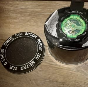Casio Gshock Unisex Lime black
